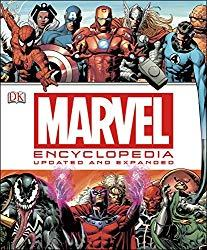 Image: Marvel Encyclopedia, by Matt Forbeck (Author). Publisher: DK; Revised edition (March 17, 2014)