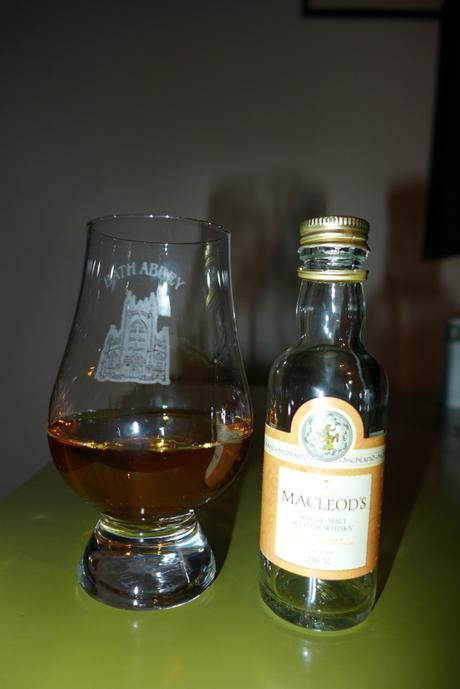Tasting Notes: Macleod's Highland Single Malt Whisky