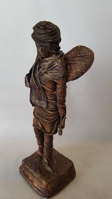 Bronze effect sculpture by Amanda Trought