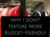 Don't Feature More Budget-Friendly Fashion