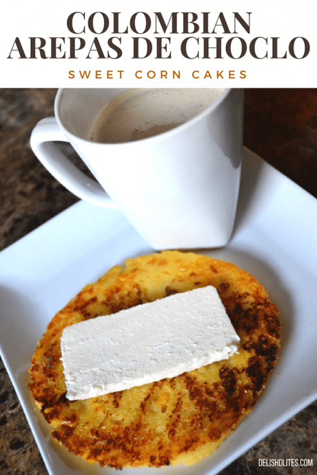 Colombian Arepas de Choclo (Griddled Sweet Corn Cakes)