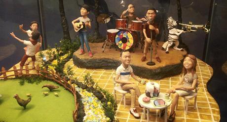 sample cute diorama exhibits