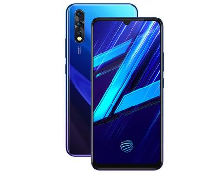 Vivo Z1x with AMOLED display, Snapdragon 712, in-display fingerprint sensor launched in India