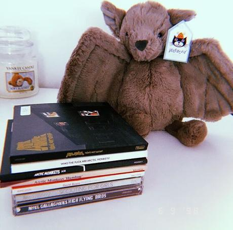 vampire bats, health & bargain cd's.