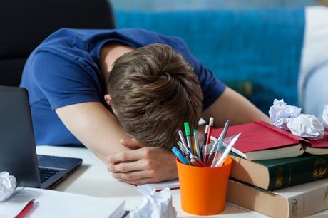 Sleep Deprived Teens