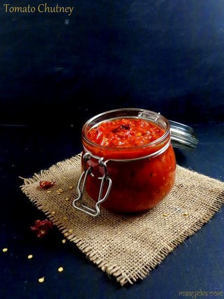 Tangy Tomato Chutney, Tomato Thokku Recipe