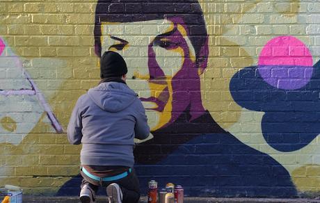 Image: Graffiti Spock Leonard Nimoy Star Trek Enterprise, by Chräcker Heller on Pixabay