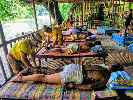 Massage at Calawag Mountain Resort