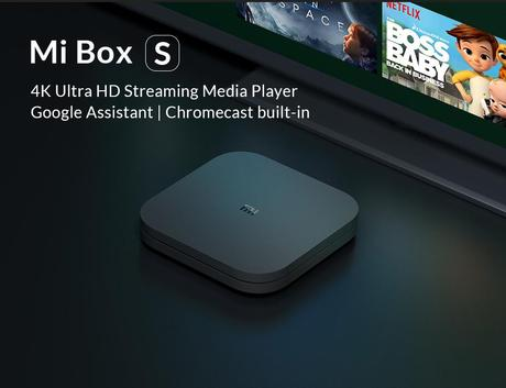 📦  Xiaomi Mi Box S - Amazing Android TV Box with Built-in Chromecast, UltraHD and Google Assistant.
