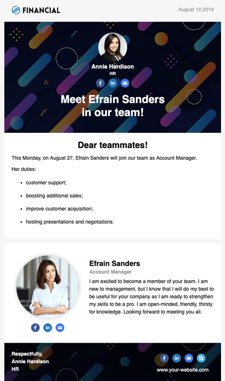 Hiring? How to Create Beautiful Email Campaigns for HRs