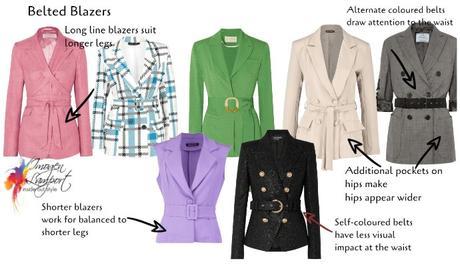 Tricky Trends – the Belted Blazer