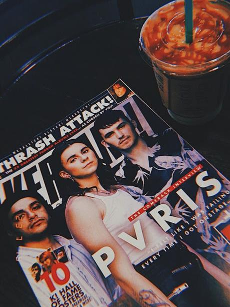 family catch up, oat milk latte & kerrang!