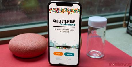 Sault Ste. Marie, Ontario pilot project lets riders hail buses from an app