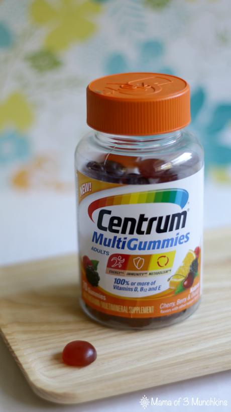 MAKE CENTRUM® MULTIGUMMIES YOUR EVERYDAY ESSENTIAL #CENTRUMVITAMINS #AD