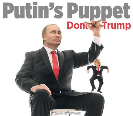 Image result for trump putin puppet
