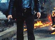 Mechanic: Charles Bronson's Black Leather Racer Jacket