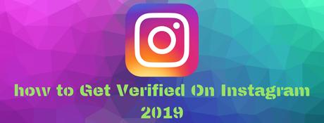 get verified instagram