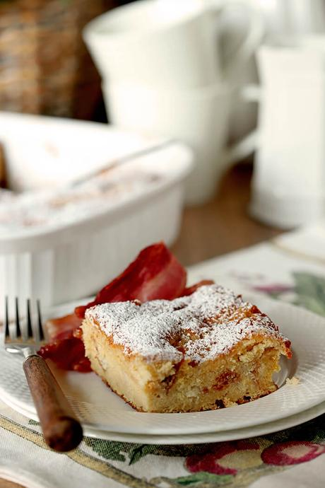 Gooey Butter Cake Overnight French Toast
