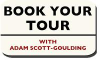 My Tours for the Coming Week…