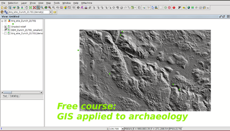 Learning GIS with free online courses and open source