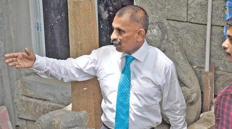 Kallidaikurichi Nataraja returns by Tamil Nadu Express, flown from Oz