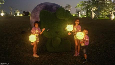 Our first family Moon Walk {Hello Kitty Run 2019}