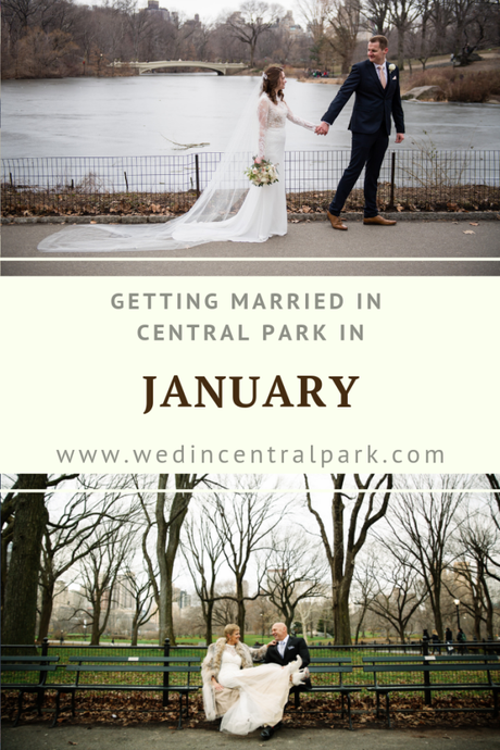 Getting Married in Central Park in January
