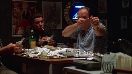 The Sopranos: Tony's Blue Streak Credits Shirt