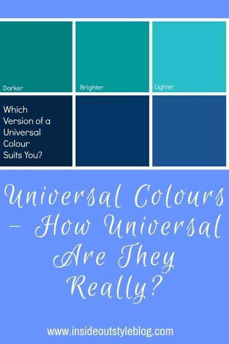 Universal Colours – How Universal Are They Really?