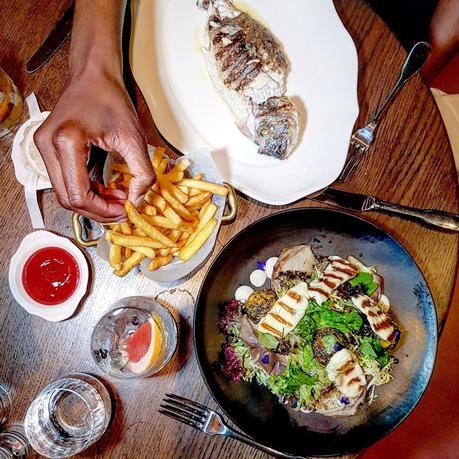 Eating Out|| Moncks of Dover Street, Mayfair