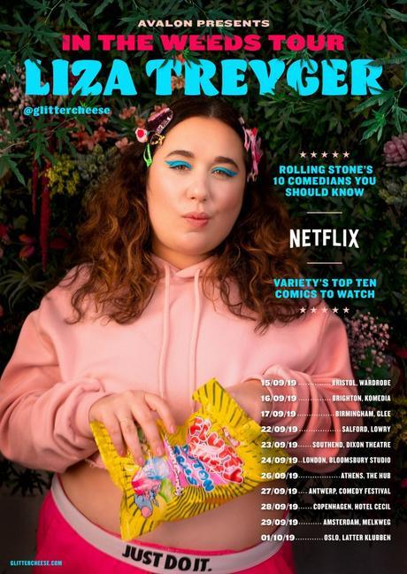 Interview with U.S. comedian Liza Treyger