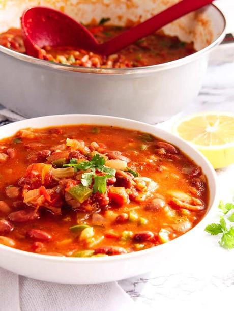 Indian Spiced Vegetarian Chili (or Rajma Masala)