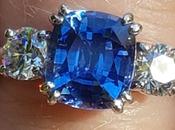 Stunning Sapphire Diamond Stone