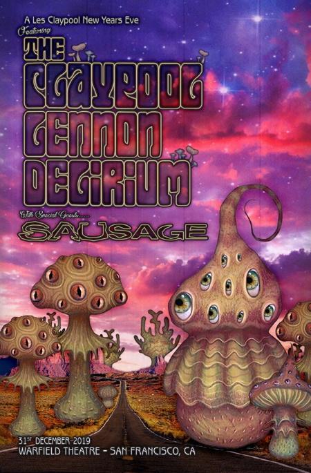 The Claypool Lennon Delirium: NYE in San Francisco w/ Sausage