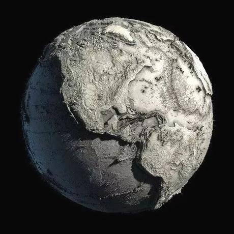 The Earth without water