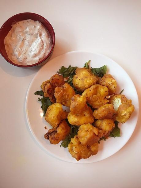 Recipe: Gluten Free Vegan Cauliflower Pakora