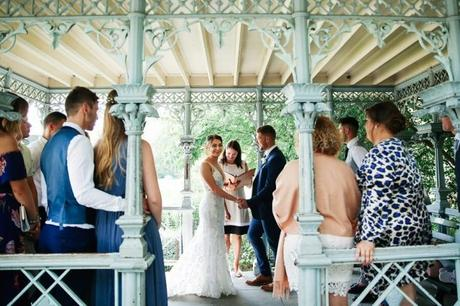Emily and Casey's Destination Wedding in the Ladies' Pavilion