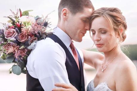 Christian & Erin   Alamoosook Lakeside Inn   Orland, Maine Wedding