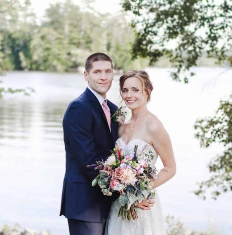 Christian & Erin | Alamoosook Lakeside Inn | Orland, Maine Wedding