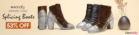 Socofy Women Leather Boots