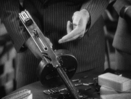 Scarface (1932) – Tony's Brown Striped Suit