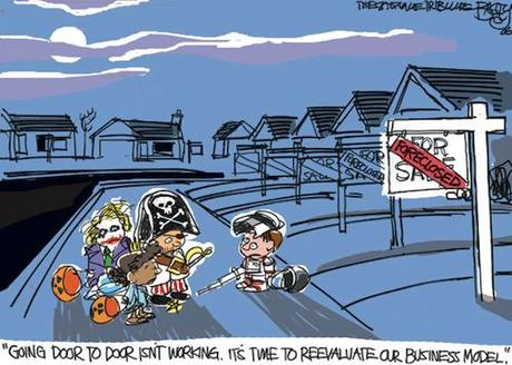 Image result for halloween scary economy cartoon