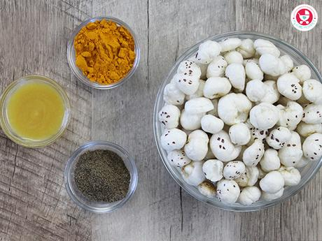 How to make Roasted Phool Makhana Recipe?