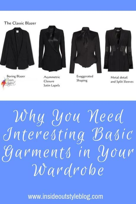 Why You Need Interesting Basic Garments in Your Wardrobe