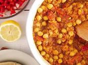 Curried Chickpea Quinoa Flatbread