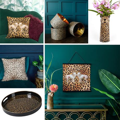 Get the look- leopard print home accessories