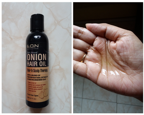ESSENTIALS OF NATURE'S 100% Natural Onion Hair Oil with Blend of 21 Proven Natural Extracts ll Review