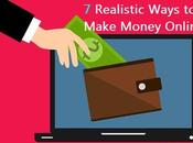 Realistic Ways Make Money Online