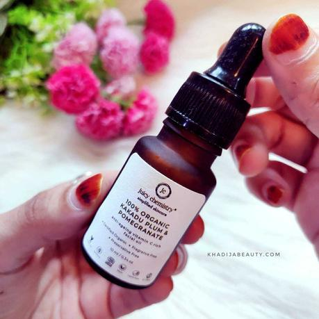 Juicy chemistry kakadu plum vitamin c serum Review