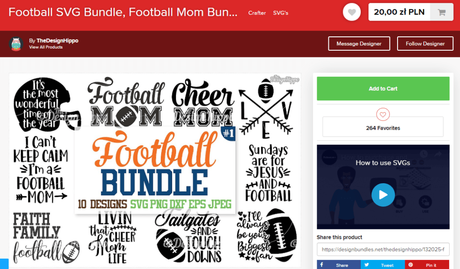 Using SVG Files From Design Bundles As A Blogger